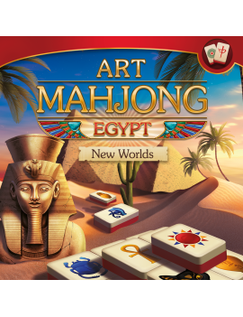 Art Mahjong Egypt: New Worlds